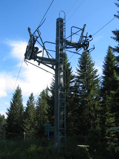 Pylône 3, dernier pylône